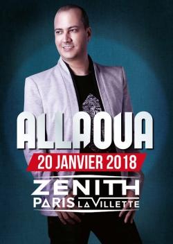 Allaoua au Zenith de Paris - janvier 2018
