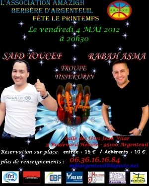 Concert Kabyle Argenteuil