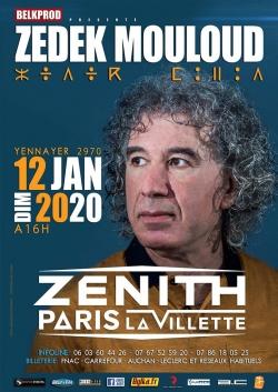 Zedek Mouloud Au Zenith De Paris - YENNAYER 2970