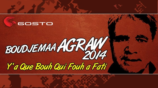 Boudjemaa Agraw - Y'a que Bouh qui Fouf a Fati - Nouvel album 2014