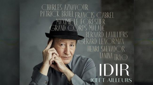 IDIR - ICI ET AILLEURS - NOUVEL ALBUM AVRIL 2017