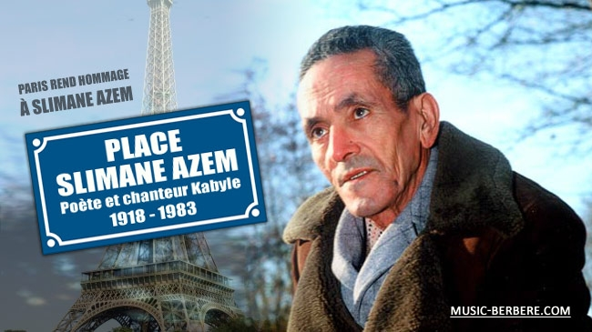 Inauguration de la Place Slimane AZEM � Paris